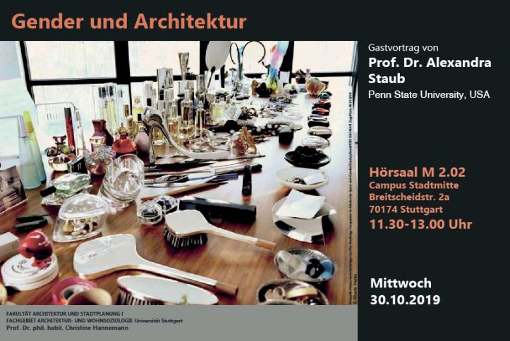 Staub_Gender und Architektur_WS19-20