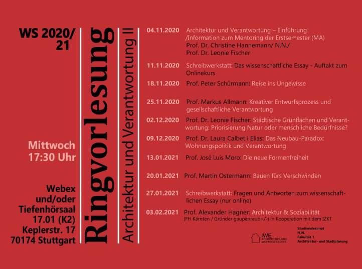 Plakat Ringvorlesung WS 20_21_vorläufig